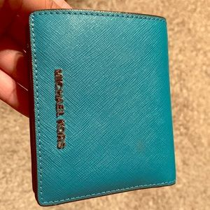 Michael Kors wallet teal